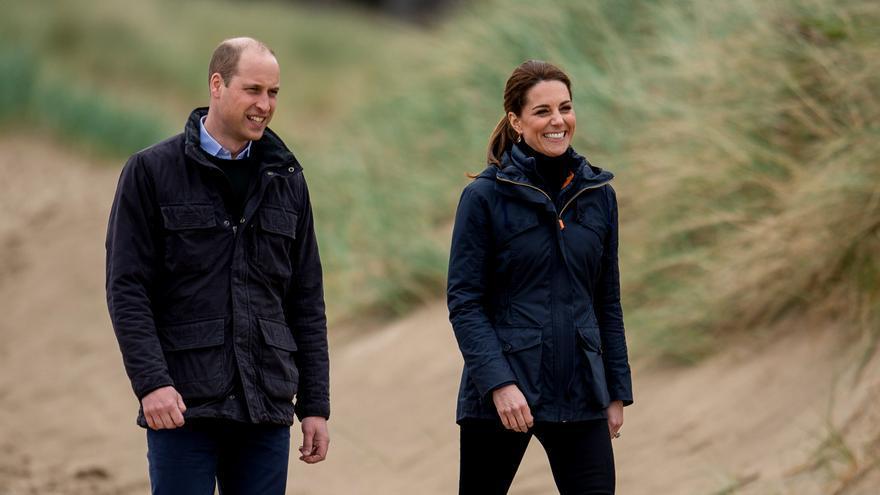 El duque de Cambridge anima a la gente a vacunarse