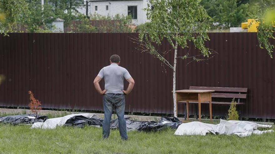 Al menos 17 personas mueren en incendio de residencia de mayores en Ucrania