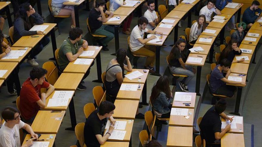 El 90,7% de los alumnos aprueba la selectividad en Madrid, la cifra más baja en 5 años