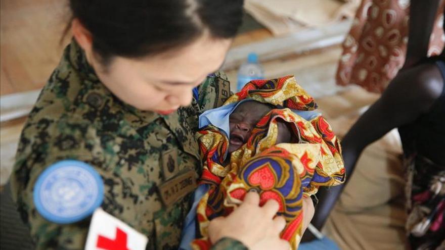 Cruz Roja entrega ayuda a 30.000 personas en Awerial, centro de Sudán del Sur