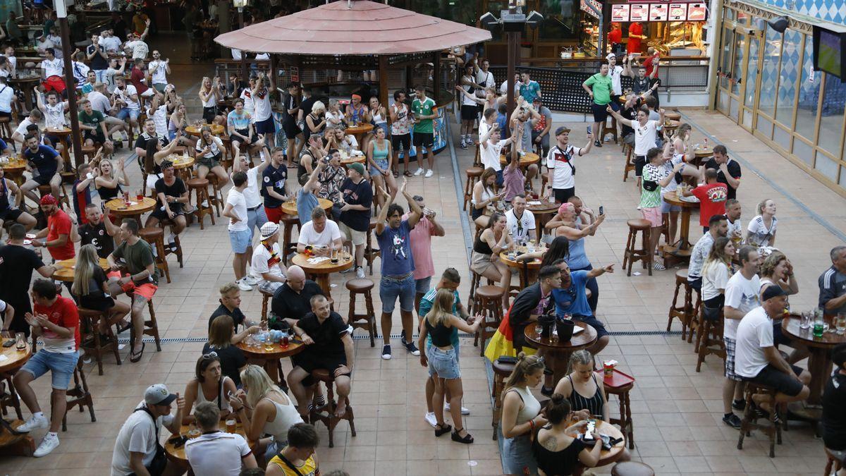 Terraza de un restaurante de Palma