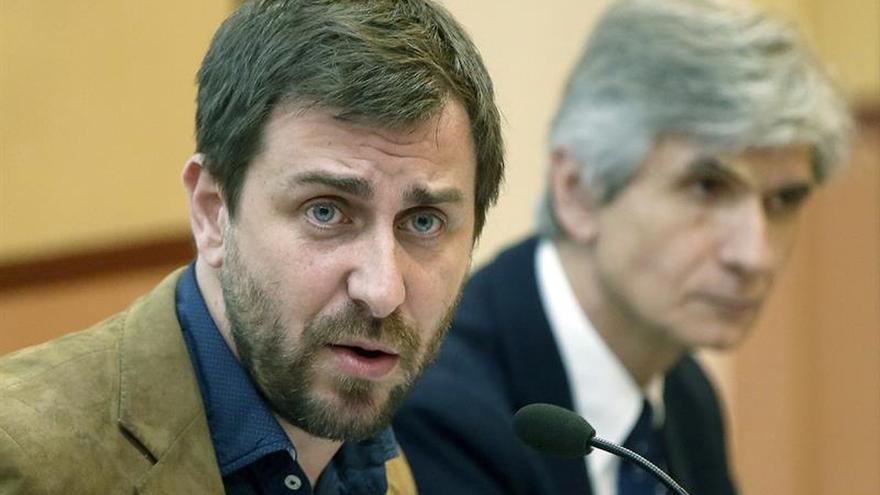 """Toni Comín dice que su renuncia individual """"tampoco resolvería la investidura"""""""
