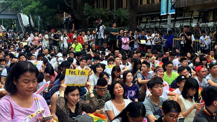 Manifestación en Taiwan © Amnesty International Taiwan