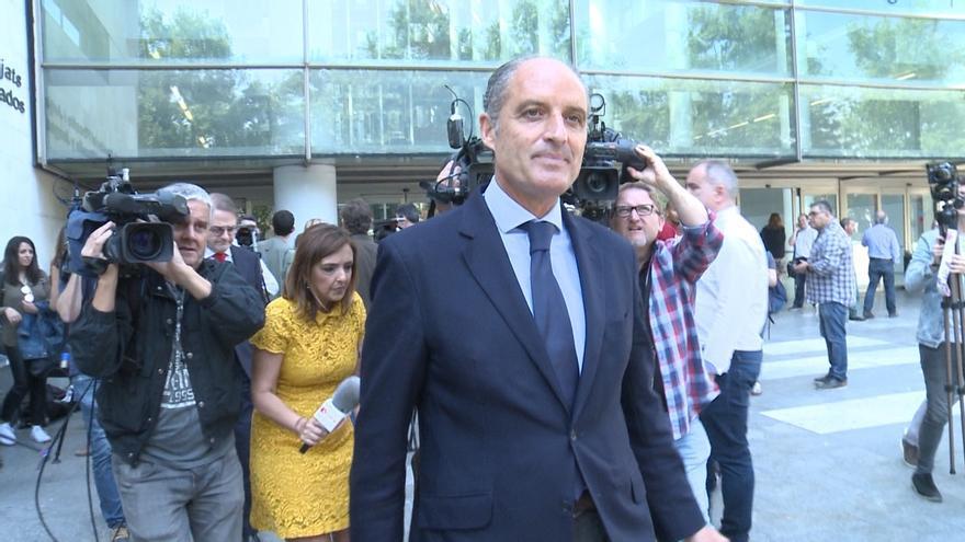 """Camps afirma que """"Olivas no fue inspirador"""" de la F1 y que la impulsaron desde """"la Presidencia de Bancaja"""""""