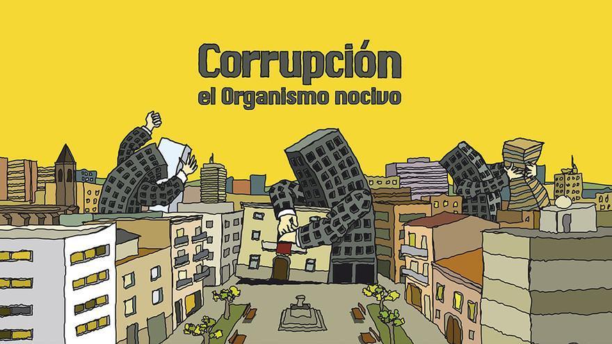 """Imagen del documental """"Corrupción: el organismo nocivo""""."""