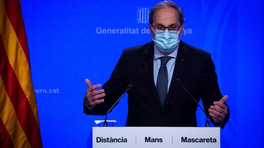 El presidente de la Generalitat, Quim Torra. EFE/Enric Fontcuberta/Archivo