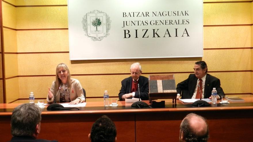 Presentada una publicación sobre los manuscritos originales de Fray Domingo de Lerin y Clavijo