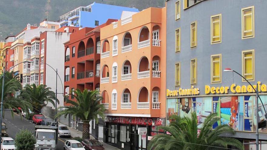 Centro urbano de Los Realejos