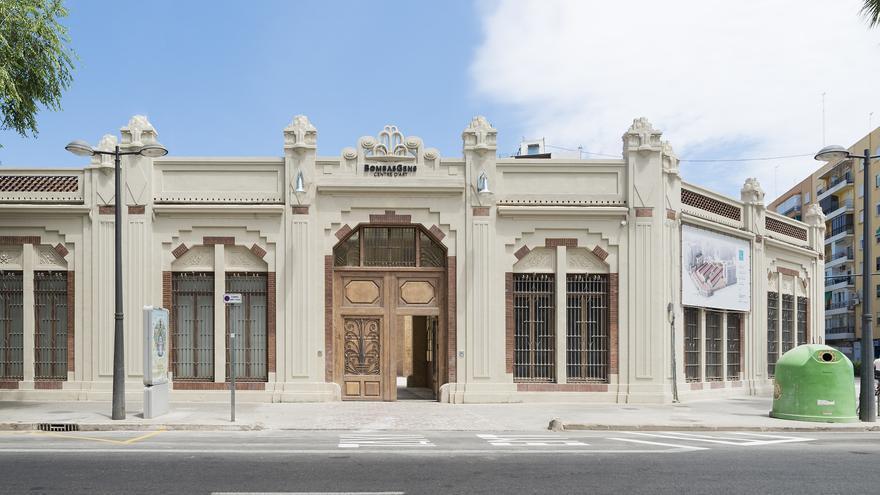 El edificio rehabilitado de Bombas Gens