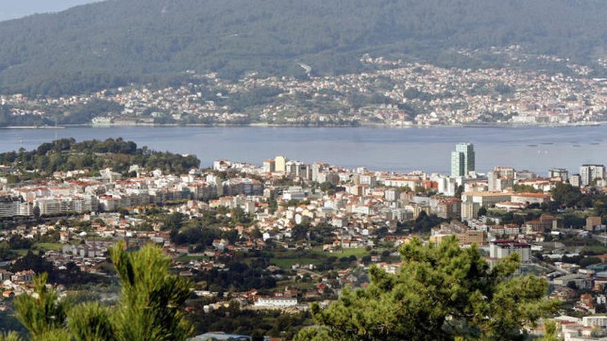 Imagen panorámica de Vigo