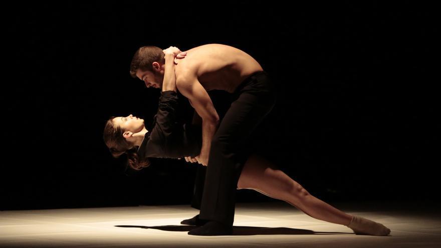 'Tres caminos', de la compañía CaraBdanza, en el pasado festival Madrid en danza// Foto: Emilio Tenorio