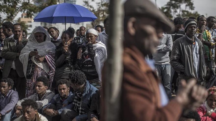 Emigrantes de Eritrea y Sudán vuelven a manifestarse por tercer día en Israel