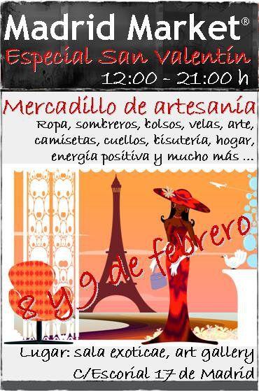 Madrid Market-Mercadillo artesania-Esp San Valentin-A