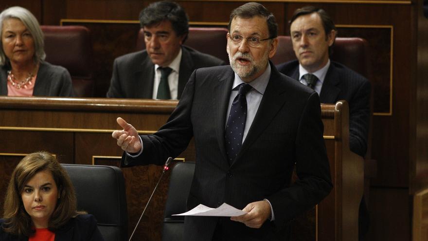 """Rajoy: """"Vamos levantando cabeza y si hacemos las cosas con sensatez, España tendrá más futuro que pasado"""""""