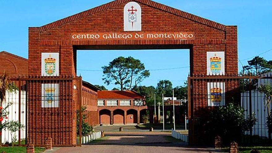 Una de las sedes del Centro Gallego en Montevideo