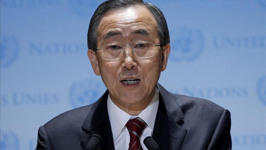Ban, muy preocupado por el resurgimiento de la violencia en Irak