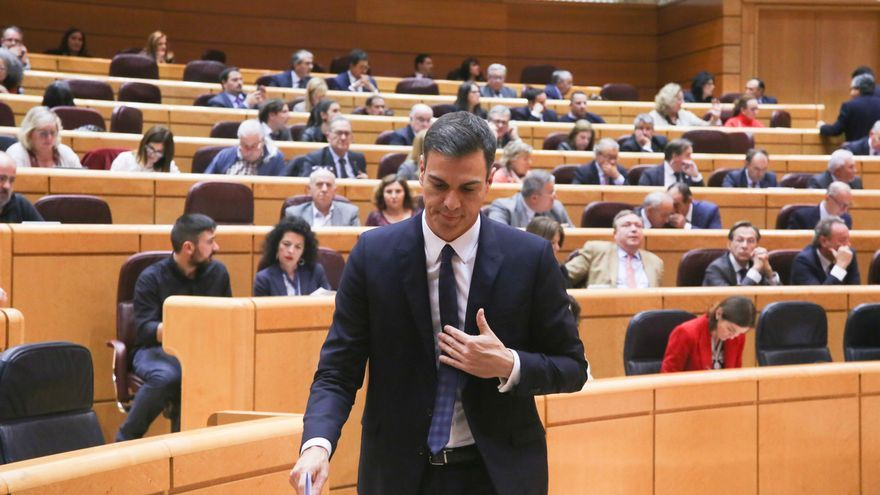 PSOE carga contra la comisión sobre la tesis de Sánchez en el Senado y ERC baraja pedir que declare Pablo Casado