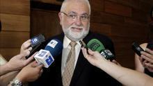 El presidente de Les Corts, el popular Juan Cotino