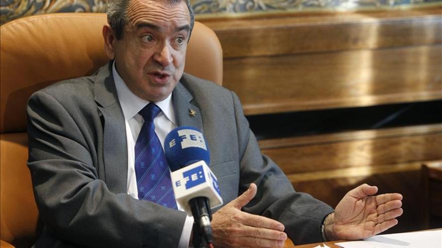 El presidente del Consejo Superior de Investigaciones Científicas (CSIC), Emilio Lora Tamayo / EFE
