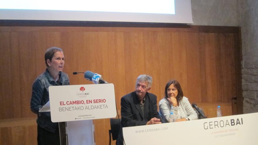 """Barkos defiende que el Gobierno de Navarra """"funciona"""" y dice que """"pocas lecciones nos pueden dar"""""""