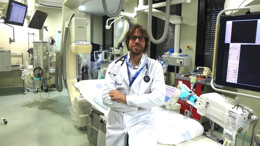 Jordi Bañeras, cardiólogo del Hospital Universitario Vall d'Hebron