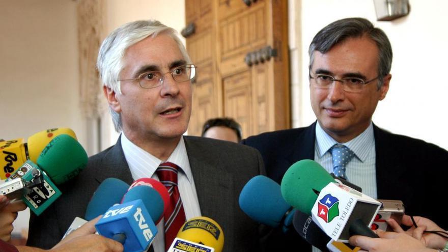 El expresidente de Castilla-La Mancha, José María Barreda, y el expresidente del PP-CLM, José Manuel Molina