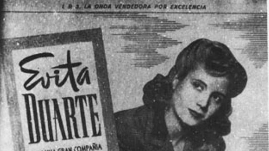 Eva Duarte, actriz