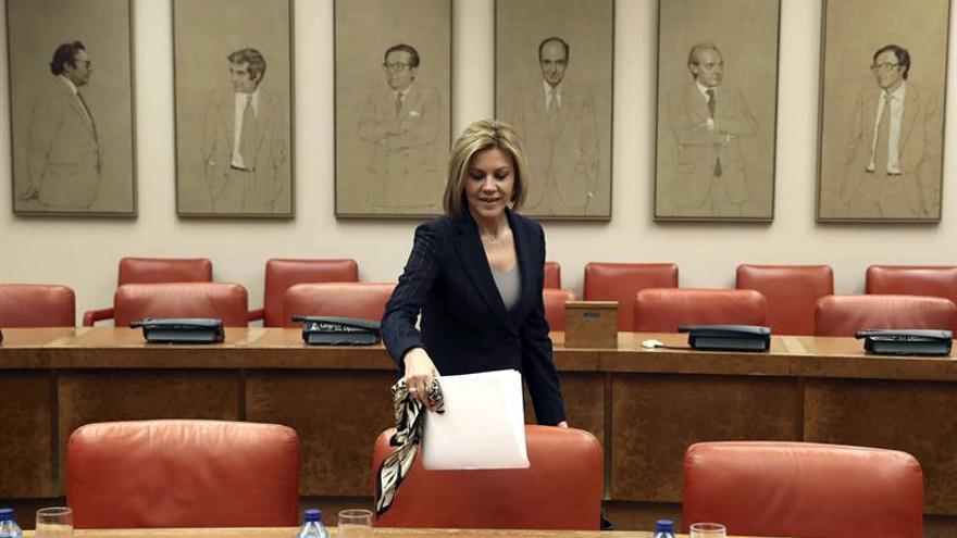 Cospedal llama a diputados del PP a trabajar pensando en las elecciones de 2019