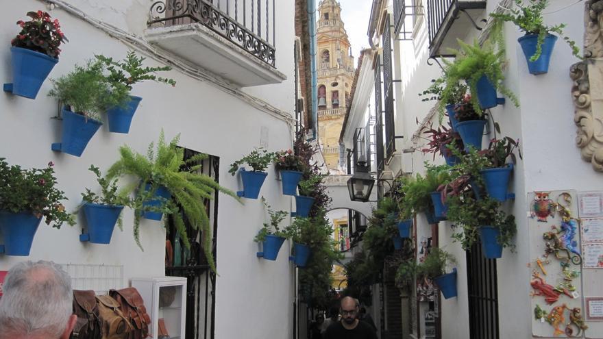 Calleja de las Flores, en Córdoba.