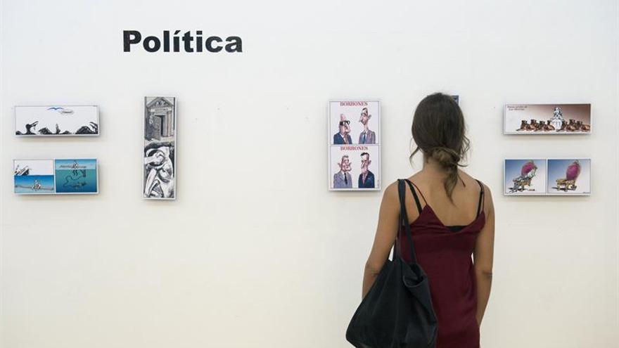 """""""Usted está aquí"""", 35 años de humor de Gallego y Rey"""