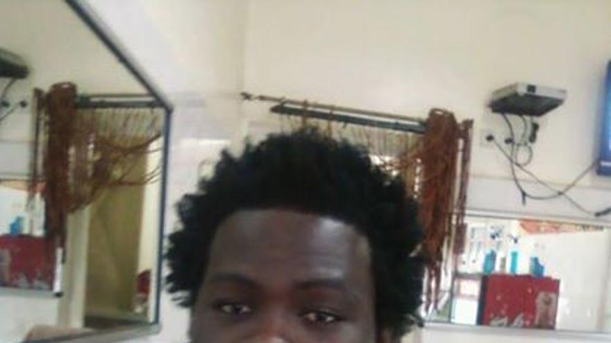 Oumar Ben Sanda, camerunés de 25 años fallecido en la tragedia de Ceuta/ Imagen cedida.