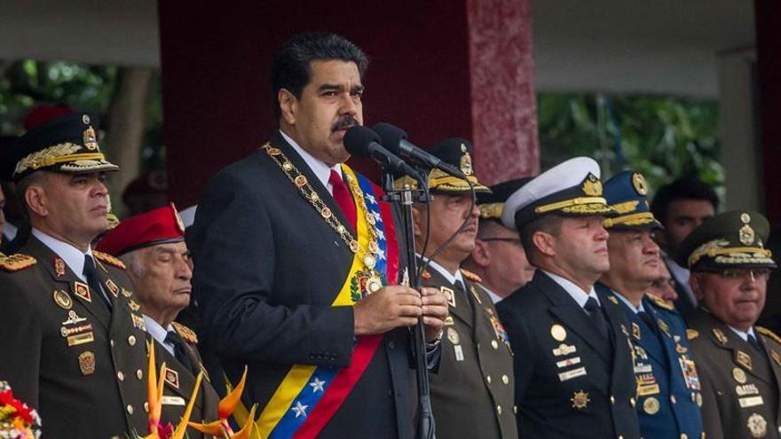 Maduro ratifica al ministro de Defensa y destituye al jefe de la policía militarizada