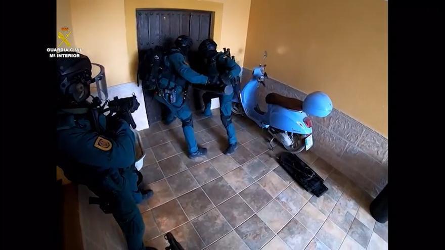Operación en la que se detiene a 'El Carpintero'.