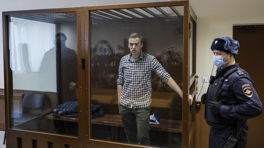 El regulador ruso declara extremista y terrorista la red de oficinas de Navalni