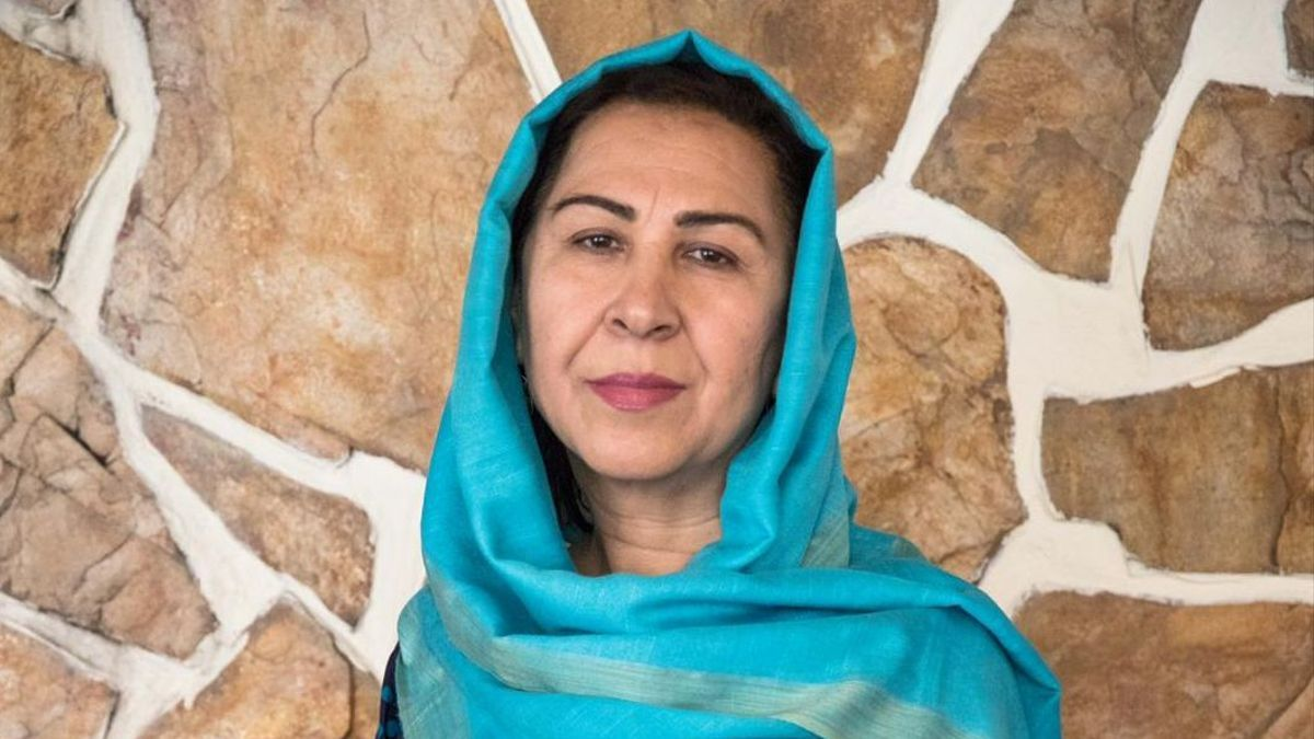 Shinkai Karokhail, un día antes del colapso del gobierno afgano y la toma de los talibanes
