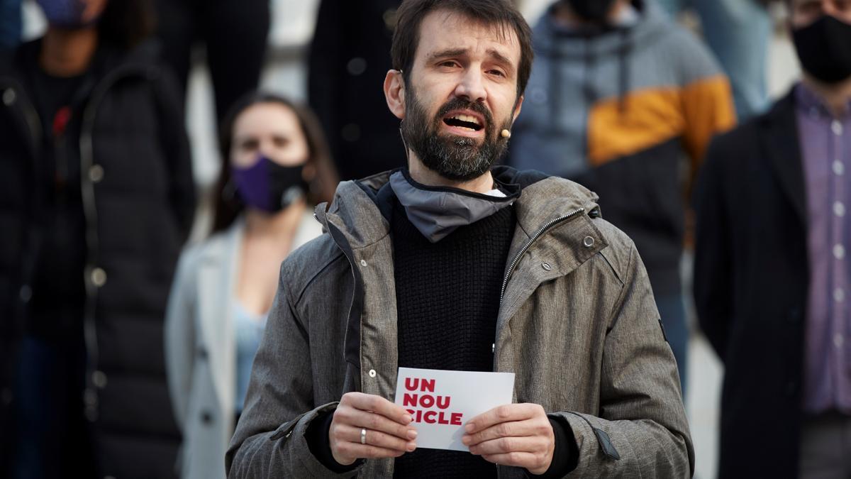 El diputado por Lleida Pau Juvillà es el candidato de la CUP a obtener la presidencia del Parlament
