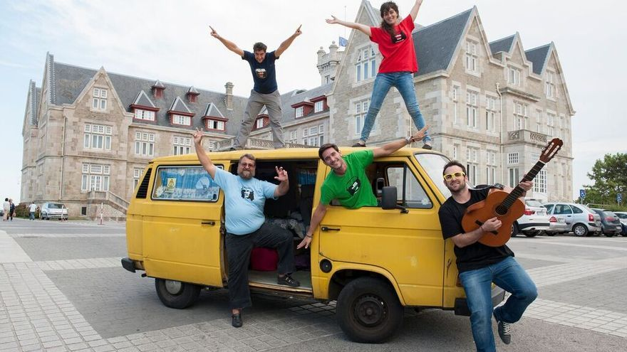 Algunos de los integrantes de The Big Van