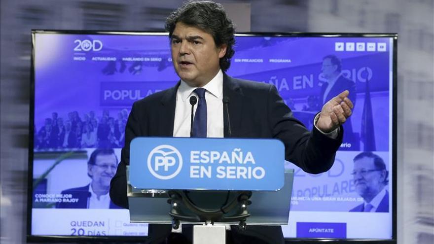 """El PP justifica el debate a dos en que el PSOE es su """"adversario de referencia"""""""