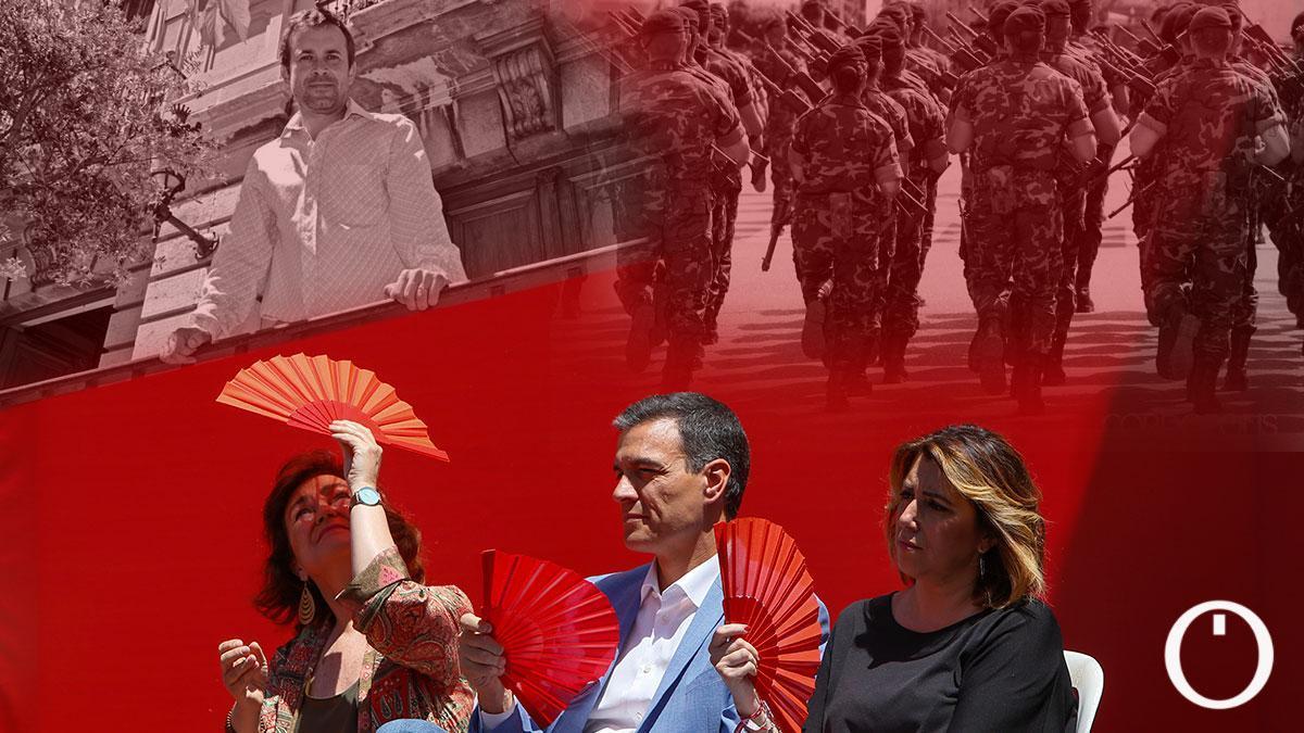 El alcalde de Jaén arremete contra el Gobierno por la decisión de la elección de Córdoba para el centro logístico militar.
