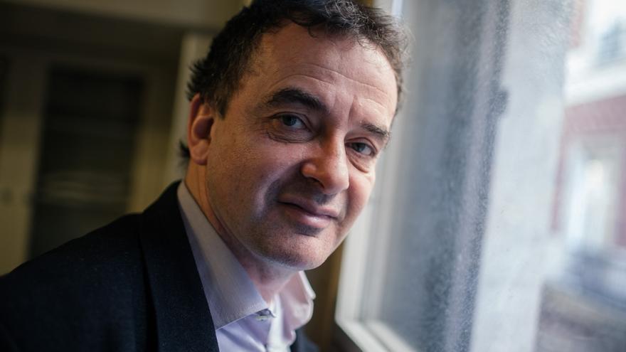 Alfred Bosch, candidato de ERC a la alcaldía de Barcelona. / ENRIC CATALÀ