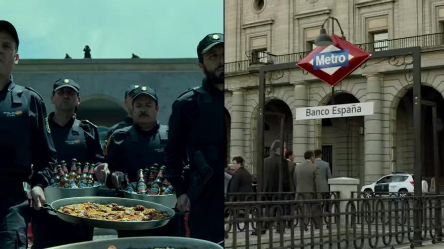 """El """"momento paella"""" y el Metro madriñelizado, entre los guiños"""