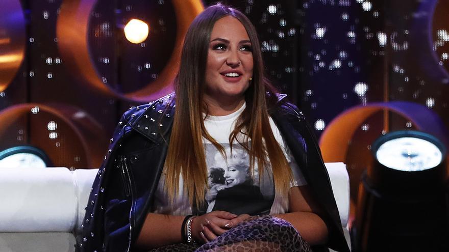 Rocío Flores, en el plató de 'GH VIP'