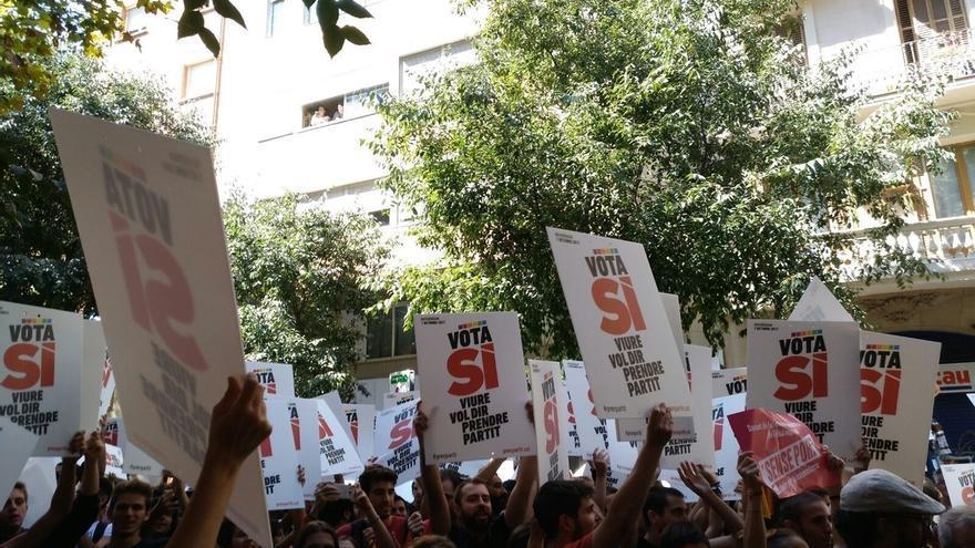 Diputados de ERC, PDeCAT y Compromís acudirá a la concentración en la Puerta del Sol contra las detenciones en Cataluña