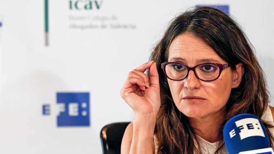 La vicepresidenta valenciana Mónica Oltra