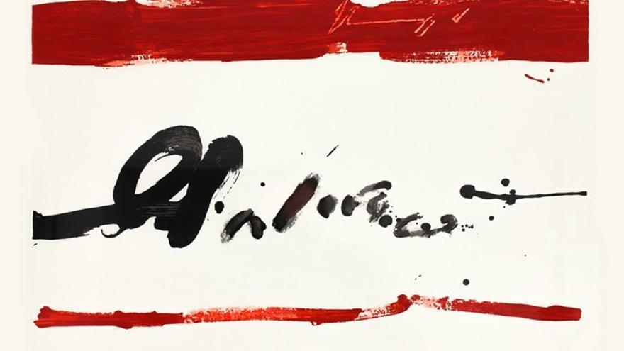 'Torquemada'. Obra de Manolo Millares.