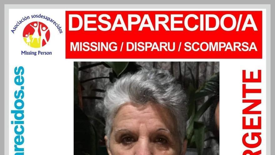 Cartel de la desaparición de Tomasa Valentín