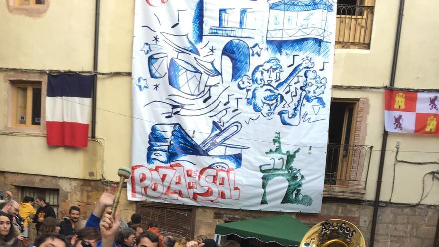 La Agrupación Musical Amigos Castro Peña en el Festival Nacional de Charangas.