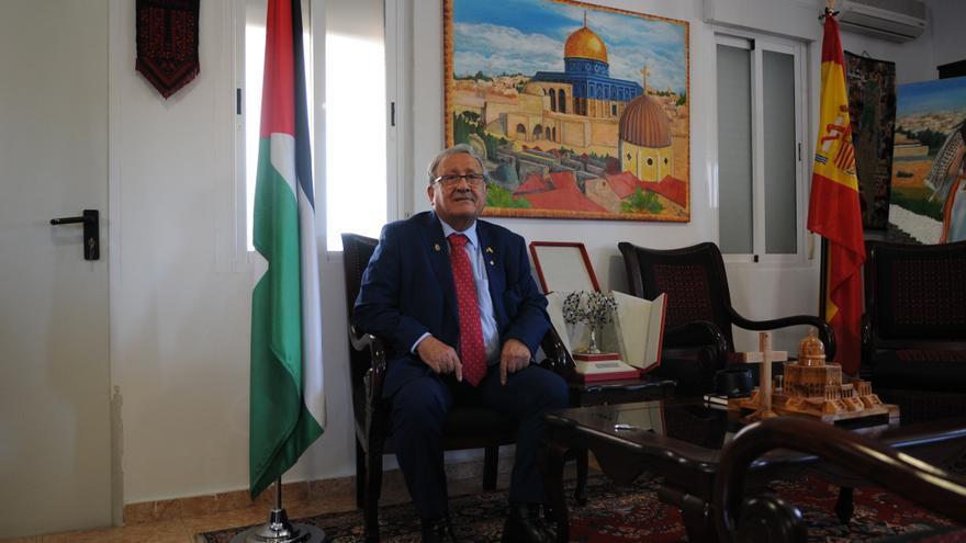 Embajador de Palestina en España, Musa Amer Odeh