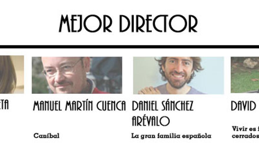 Nominados a Mejor Director