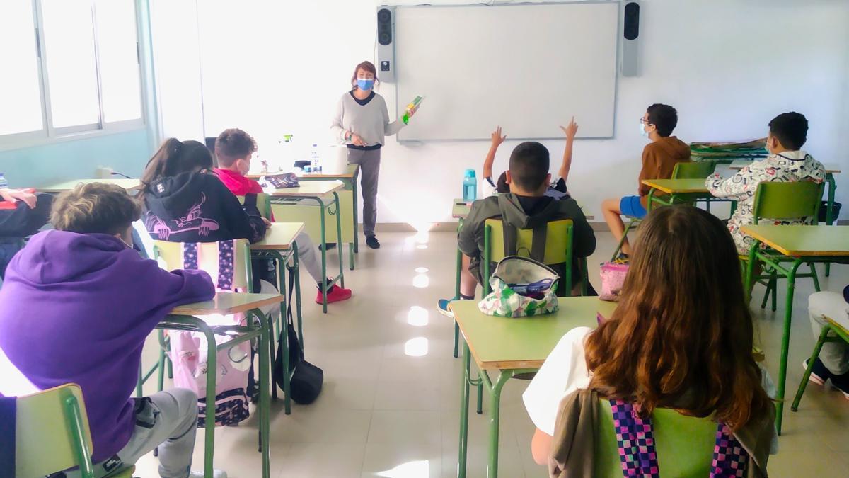 'La Palma Renovable' pone en marcha iniciativas para aumentar la educación medioambiental en las aula.